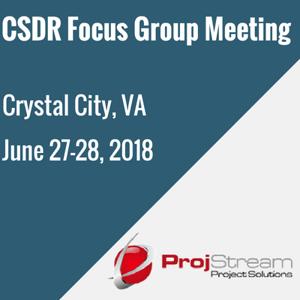 CSDR Focus Group Meeting