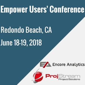 Empower Users' ConferenceJune 18-19, 2018Redondo Beach, CA (2)