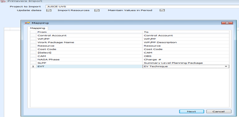 Integrate with MS Project and Primavera